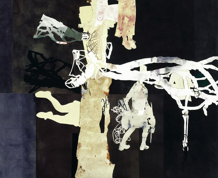 sally smart, Ghost Gum (Painting in the Dark) 2004-2005