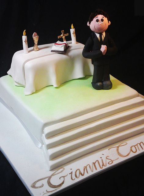 creative cake art communion and confirmation cakes by www.creativecakeart.com.au, via Flickr