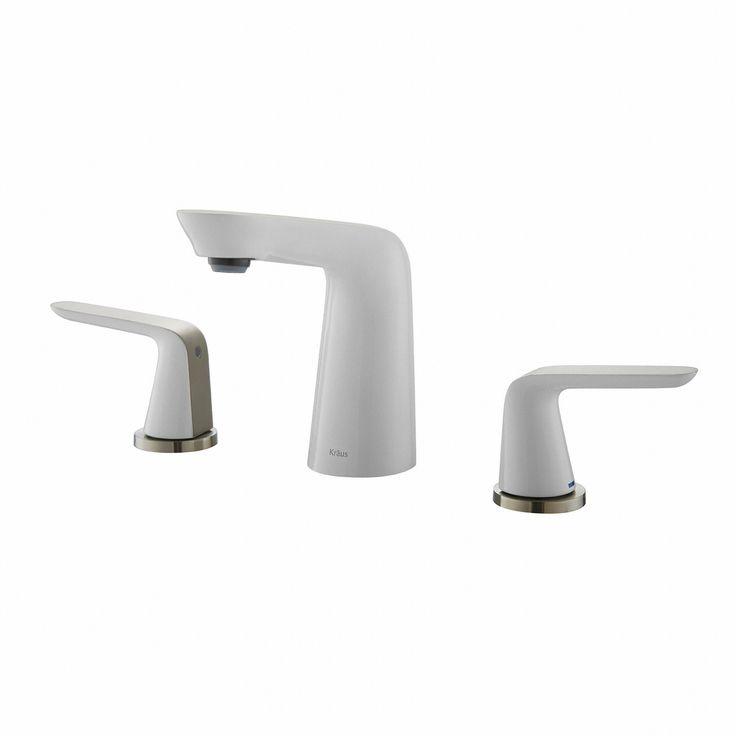 Seda Double Handle Widespread Bathroom Faucet