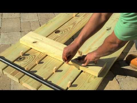 how to build a picnic table with cooler