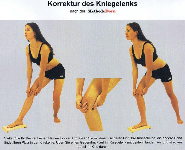 Korrektur des Kniegelenks nach der Methode Dorn