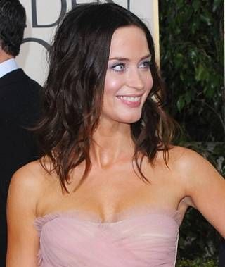 Emily Blunt - grown out bob