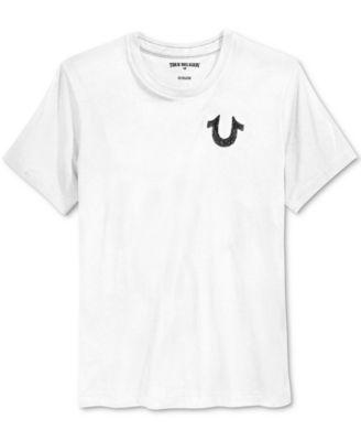 TRUE RELIGION True Religion Men'S Shoestring Horseshoe Graphic-Print T-Shirt . #truereligion #cloth #shirts