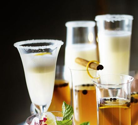Lemon & elderflower fizz -- Raise a toast with this zesty cocktail with a gin and sparkling Prosecco base and lemon sorbet and elderflower cordial mixers.