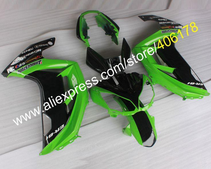 Hot Sales,Body Kit For 2012 2013 2014 2015 Kawasaki Ninja ER-6F Fairing ER6F ER 6F 650 R 12-15 Bodyworks Motorbike Fairing Kit