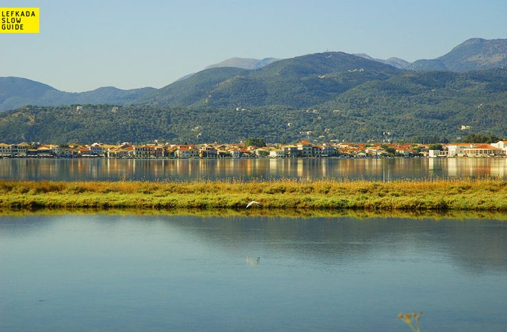 The view of the town from Gyra road (the town's environs), excursions, Lefkada