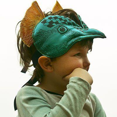 Peacock Headdress by Animalesque - Junior Edition www.junioredition.com