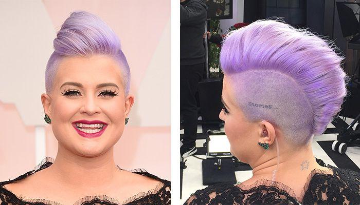 Der Irokesenschnitt Bei Frauen Immer Beliebter So Sieht Die Frisur Aus Oscar Frisuren Haar Styling Haarfarbe Schwarz