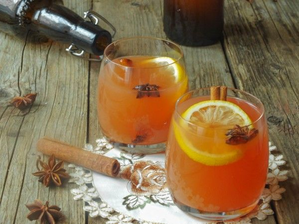 Безалкогольный яблочный сидр с пряностями