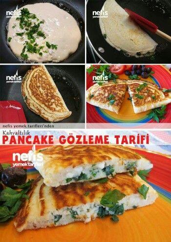 Pancake gözleme nefis yemek tarifleri sitesinden