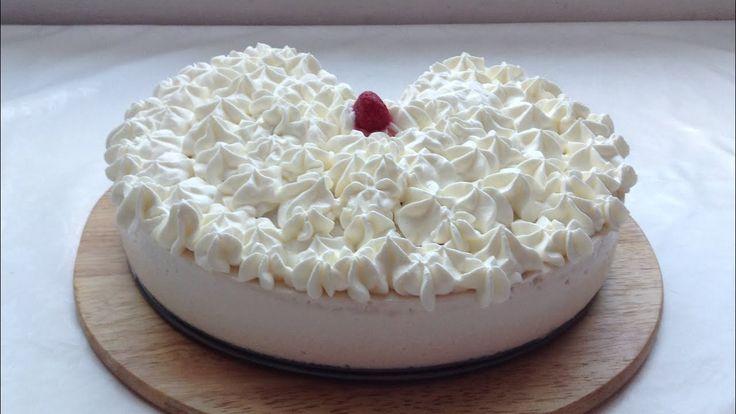 Муссовый торт . Муссовый торт рецепт . Творожный муссовый торт с малиной...
