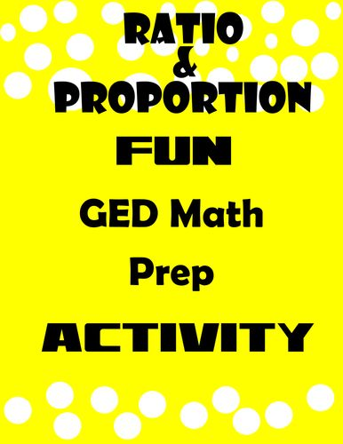 GED Math-Ratio and Proportion