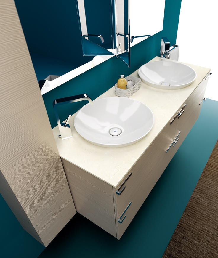 #Washbasins | #Mirror | #Design