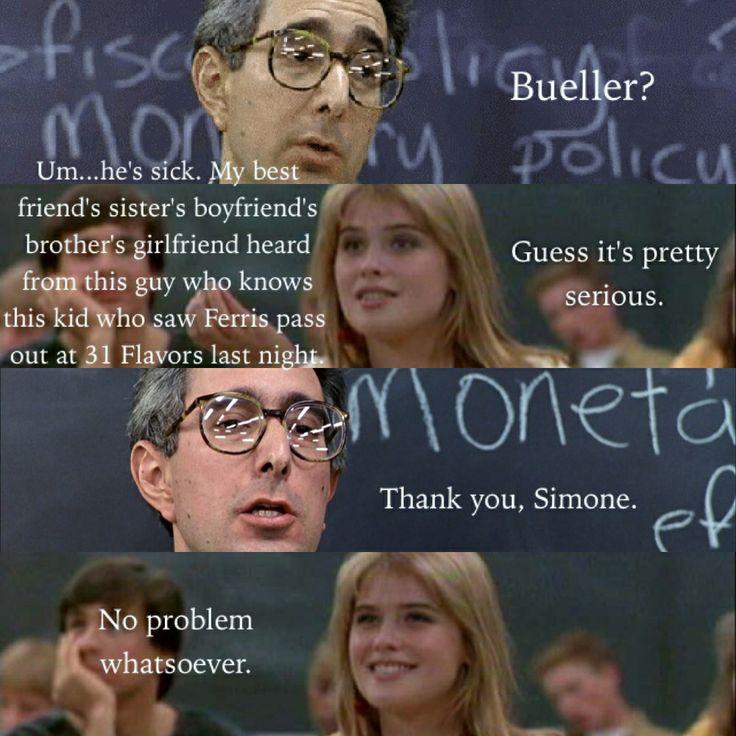 Ferris Bueller Quote: 84 Best Images About Ferris Bueller Quotes On Pinterest