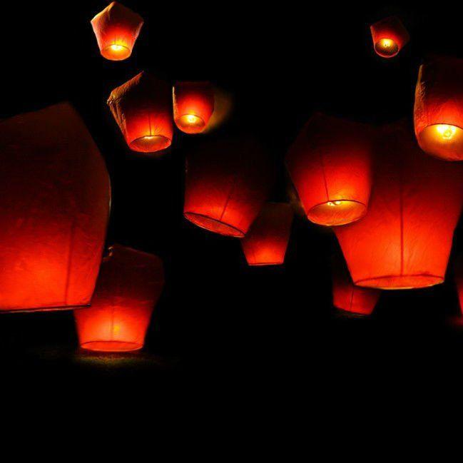 Lampion volant de ciel de Noël fabriqué en Chine