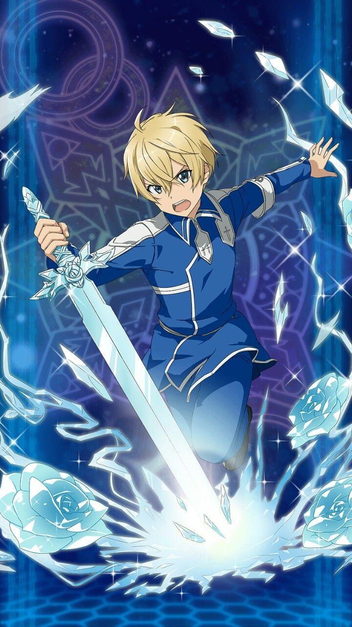Eugeo Sao Alicization Línea De Arte Personajes De Anime Arte De Anime