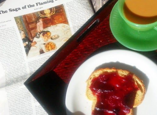 Provocolate: Jam is the Jewel that Brightens a Gray day