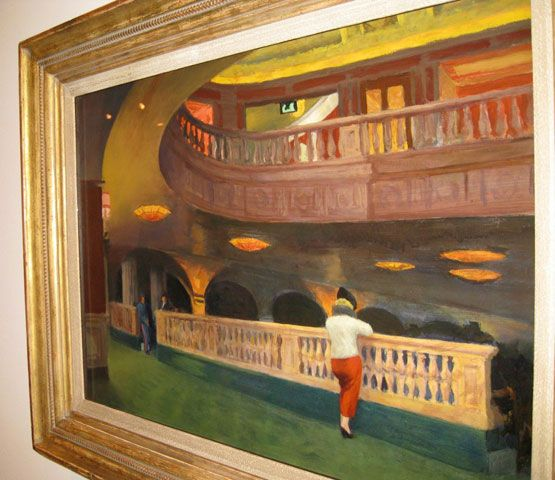 Edward Hopper (1882–1967) The Sheridan Theatre, 1937 Oil on canvas The Newark Museum; purchase 1940