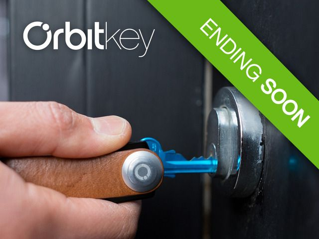 Orbitkey - The Elegant and Practical Way to Carry Your Keys by Orbitkey — Kickstarter