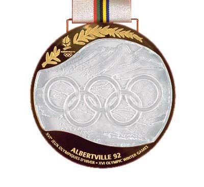 1992 Albertville Olympic Medals