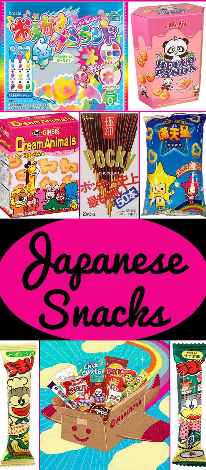 Japan continues to bring fun and exciting flavors to MunchPak! japanese snacks, japanese candy, japanese snack box, japanese snack boxes, japanese candy boxes, japanese subscription box, Meiji Hello Panda, Ginbis Dream Animals, Pocky, Kracie Popin' Cookin, Lucky Stars Potato Chips, Umaibo