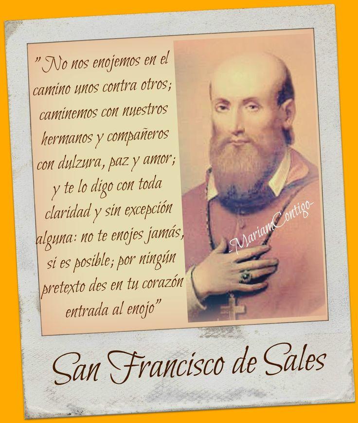 SAN FRANCISCO DE SALES    ' El santo de la amabilidad'  Sales, Saboya, Francia - Lyon, Francia  (1567 †1622)  Beaticado el 8 de en...