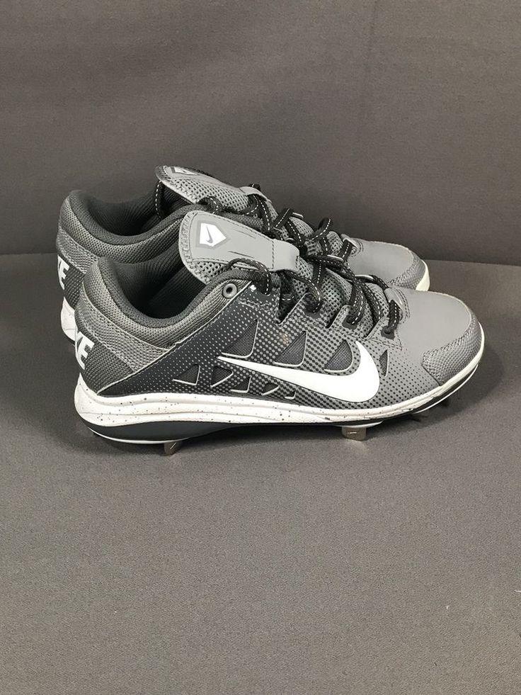 Nike Hyperdiamond Women's Softball Metal Cleats, Gray/White, Size 7 (684693-011)  | eBay