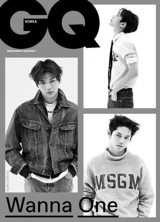 Wanna One grace the cover of 'GQ Korea' November issue | allkpop.com