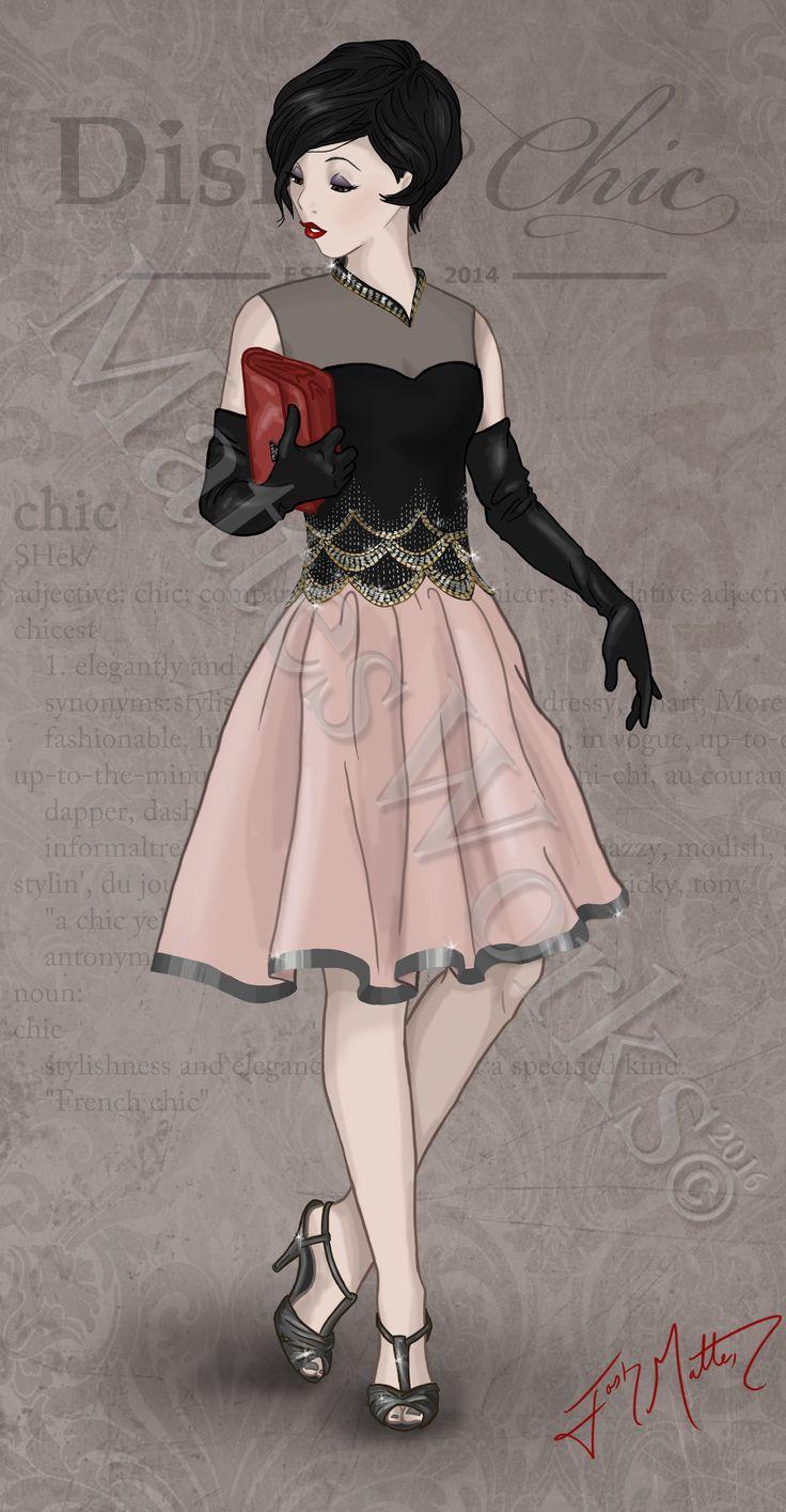 Chic Snow White by MattesWorks.deviantart.com on @DeviantArt