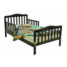 Dream On Me Contemporary Toddler Bed - Black