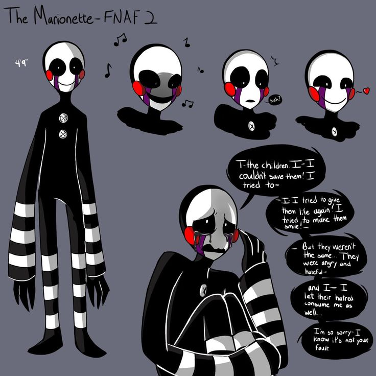 Fnaf puppets and anime on pinterest
