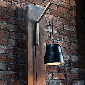 Black Pail - Lamp