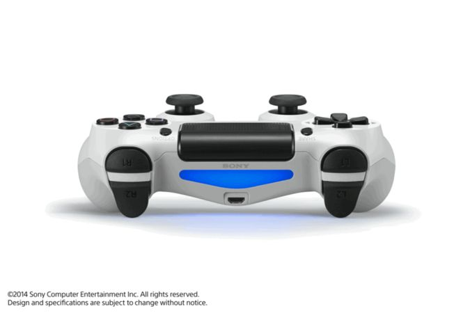 Official Sony DualShock 4 - Glacier White screen shot 3