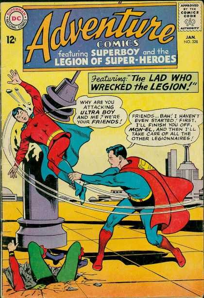 Ultra Boy - Superman - Lad - Legion - Superboy - Curt Swan
