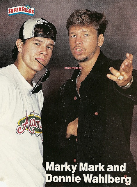 mark and donnie wahlberg...  I couldn't help it. You're welcome.