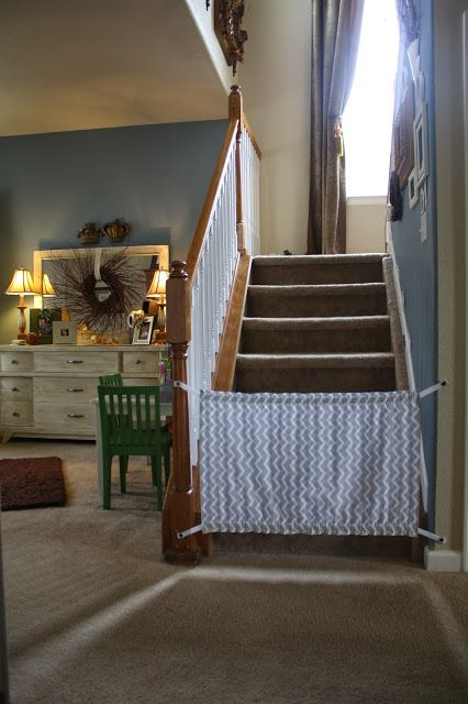 Homemade Baby Gate {A Tutorial}
