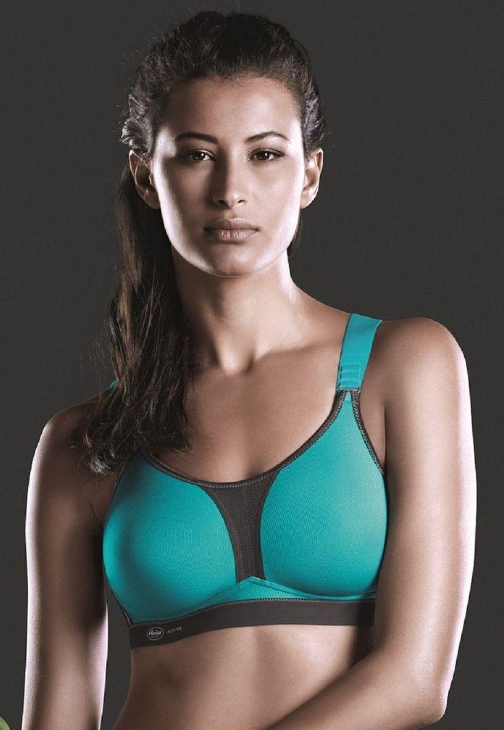 Dynamix Star (5537), soft non-wired sports bra by Anita / Sportowy miękki bezfiszbinowy biustonosz od firmy Anita.