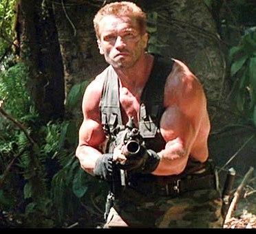 Predator Arnold Schwarzenegger 1987