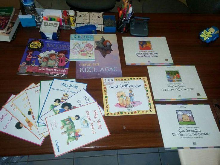 Pdr servisi ilkokul için  kitap önerileri