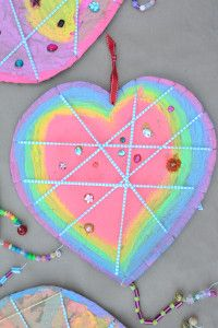 I've wanted to make dream catchers forever so in honor of Valentine's Day we switched it up a little bit and made Love Catchers. I thought it was kind of nicer to bring on love dreams than ward off bad…