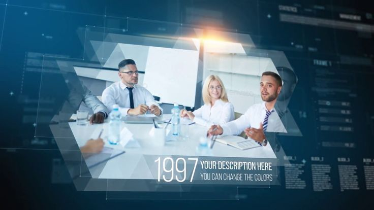 Corporate History After Effects Template