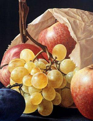 bodegones-de-frutas-pinturas, Gioacchino Passini