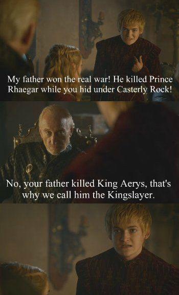 Well since we're being honest, Joffrey.. - Imgur