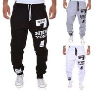 Newest Fashion Printed Cool Design Men's Pants  Brand:GOOD MEN  Material:Knitting Polyester&Cotton