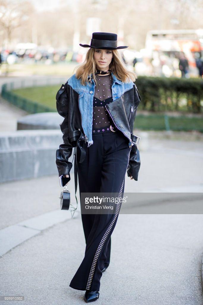 ccb5d6b0b5a Street Style   Paris Fashion Week Womenswear Fall Winter 2018 2019 ...