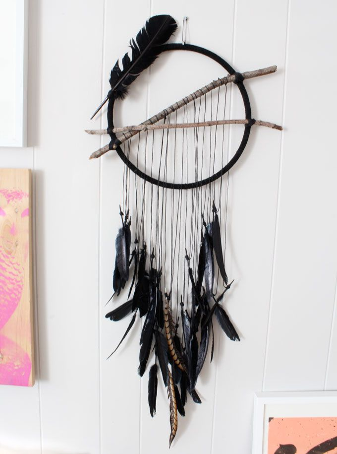 Update! A small batch of dream catchers are now available in my shop. Treat yo'self!    Something peculiar happened the other night. I awoke in the wee hours of the morning to a ...