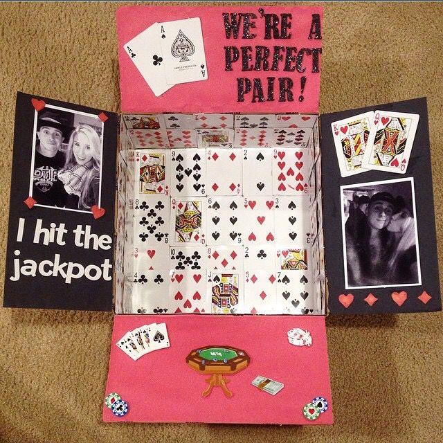 Military Care Package, cards, gamble