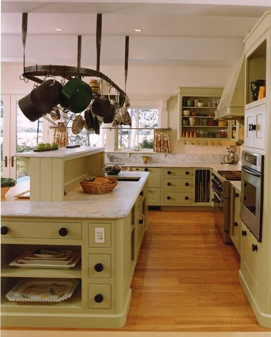 Custom Made A Classic Painted Kitchen