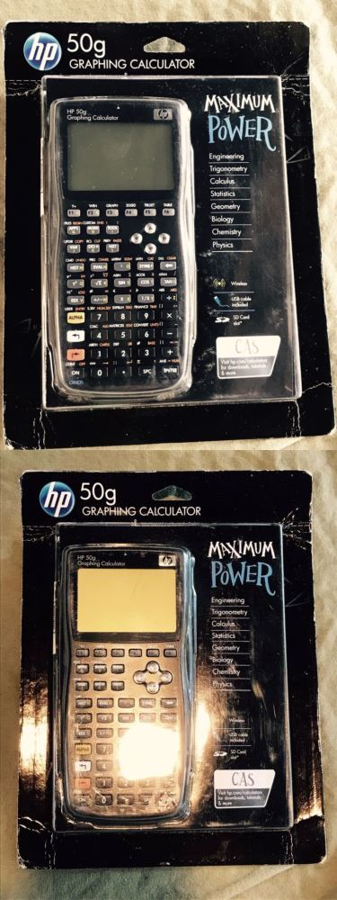 Calculators: Hp 50G Graphing Calculator New In Box -> BUY IT NOW ONLY: $175 on eBay!
