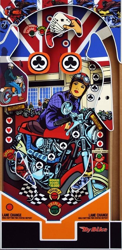 Se ha presentado en Makinostra, concesionario oficial Harley en Madrid, una original exposición de dibujos realizados por el artista Antonio Merineroal estilo y sobre los tableros del antiguo juego del pinball. La exposición estará abierta hasta final de año.